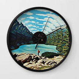Life is an illusion Wall Clock