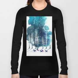 Winter Night 2 Long Sleeve T-shirt