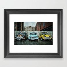 3 Minis Framed Art Print