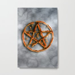 Supernatural devil's trap Metal Print