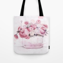 The tender touch of peonies Tote Bag
