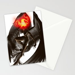 Lumania Bound Conflagration, The Amber Angel Stationery Cards