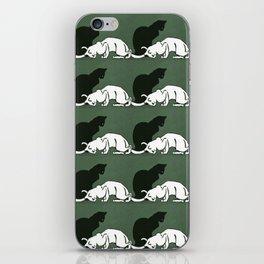 "Théophile Steinlen  ""Frise de chats"" (original) iPhone Skin"