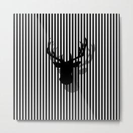 head on Metal Print