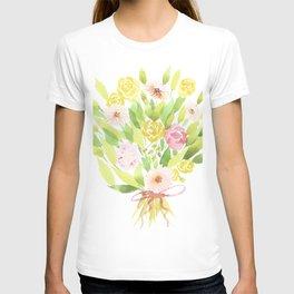 Roses and Gerberas T-shirt