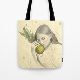 Baby & Pineapple Tote Bag