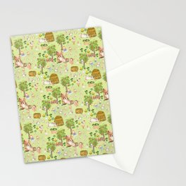Mary Had A Little Lamb - Children´s Fairytale Pattern Stationery Cards