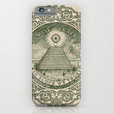 In Block We Trust (Green) Slim Case iPhone 6