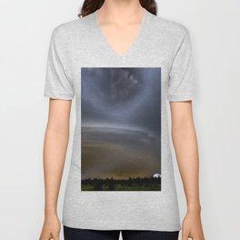 Dramatic Sky Unisex V-Neck