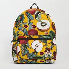 Vintage Fruit Pattern V Backpack