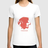 merlin T-shirts featuring Pendragon symbol, Merlin by carolam