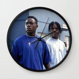 MENACE II SOCIETY Wall Clock