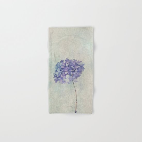 Beautiful Blue Hydrangea Hand & Bath Towel