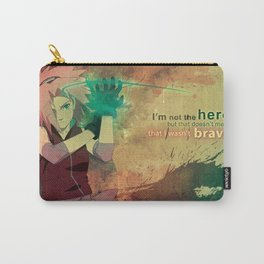 Im Not The Hero Carry-All Pouch