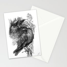 Huginn and Muninn - Michelle S. Have Stationery Cards