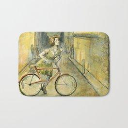 Alley Bike Bath Mat