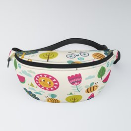 Summer and Bees Fanny Pack