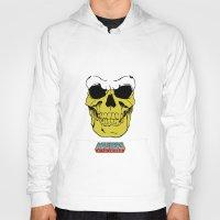 skeletor Hoodies featuring Skeletor by Dukesman