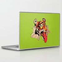 musa Laptop & iPad Skins featuring tiger tiger by musa