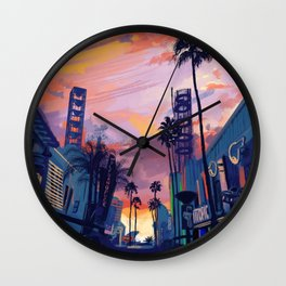 Citywalk Wall Clock