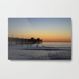 San Clemente Pier Metal Print