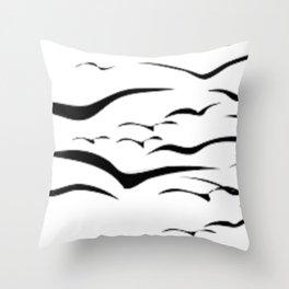 Birds do Fly Throw Pillow