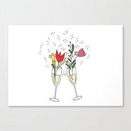 Celebrating spring! Canvas Print