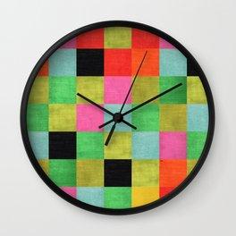 Textil Wall Clock