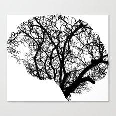 Brain Tree Canvas Print