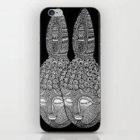 meditation iPhone & iPod Skins featuring Meditation by Luna Portnoi