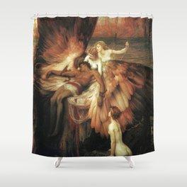 Mourning for Icarus - Draper Herbert James Shower Curtain