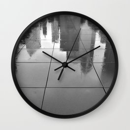 Singin' in the rain and all the jazz Wall Clock
