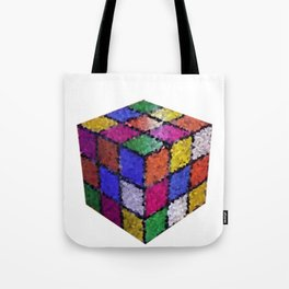 The color cube Tote Bag