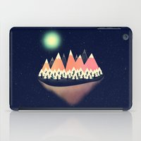 decal iPad Cases featuring The Other Side by Zach Terrell