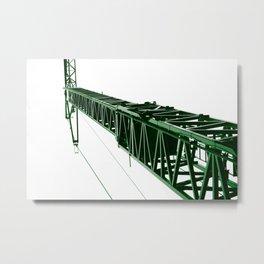 crane green operator Metal Print