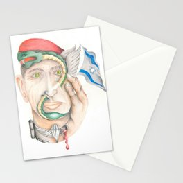 Israeli Paratrooper Stationery Cards
