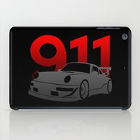 porsche iPad Cases featuring Porsche 911 by Vehicle