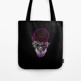 NEON SKULL/2 Tote Bag