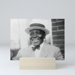 Jack Johnson Smiling - 1909 Mini Art Print
