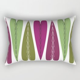 Grape Hearts Rectangular Pillow