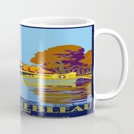 Vintage poster - Fontainebleau Coffee Mug