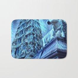 A Blue Day Bath Mat