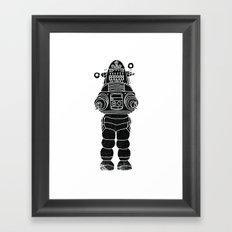 ROBBY THE ROBOT Framed Art Print