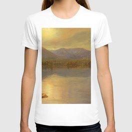 "Frederic Church ""Mounts Katahdin and Turner from Lake Katahdin, Maine"" T-shirt"