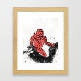 robot showbot Framed Art Print
