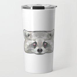 Raccoon Poly Travel Mug