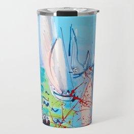 Regatta by Raoul Dufy Travel Mug