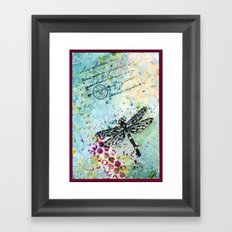 Dragonwings Framed Art Print