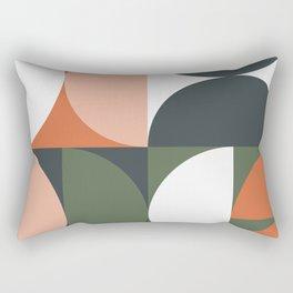 Mid Century Geometric 15 Rectangular Pillow