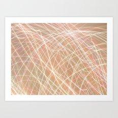 Crazy Lights. Art Print